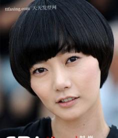 东方女明星超绚BOB头 女人发型的魅力