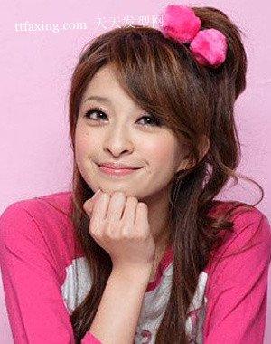 发饰锦上添花 韩国最流行的发式玩转百变造型