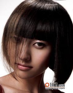 绝美波波头适合的脸型 流行发型图片