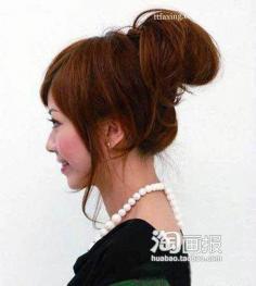 变变变简单发型百搭花样 2012流行的头发颜色