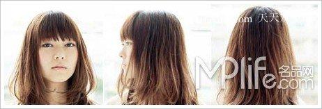 显瘦又显嫩长发  绝美2012年日韩流行发型