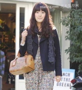 韩国街拍发型 新发现 2012年秋天流行发型