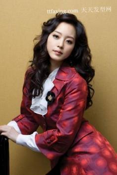无敌女王气质冷冬发型 流行美韩式发型