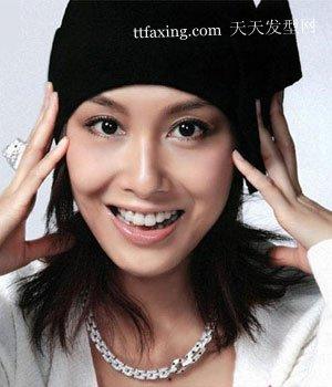 帽子发型搭配让年龄减减减日韩可爱发型