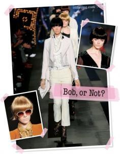 超模bobo头 发型设计与脸型搭配最佳