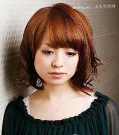 日本流行发型 还有一款波波头发型~性感蓬松