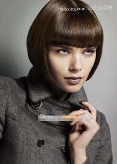 2012年流行毕业生发型BOB头极力打造