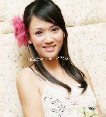 平刘海适合什么脸型陈乔恩发型百变秀 爆棚街头