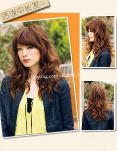 2012年流行的两组短发+两组长发+一组及肩发