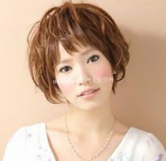 卡哇伊刘海2012韩国时尚发型 不得不爱完美容颜