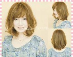 潮流长发+短发~轻松抢镜 日本新娘短发