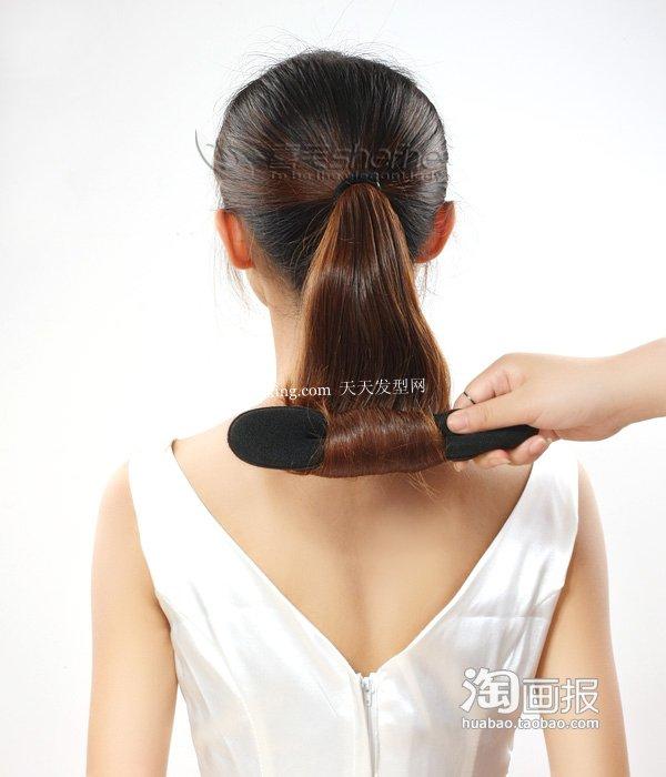 新娘发型盘发 盘头发的方法~谁更登对