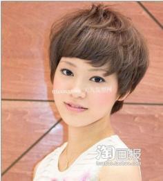 女生短发 头发稀少的短发发型