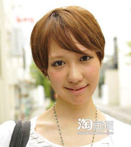 短发/青春甜美的夏季短发让MM显得更加活泼可爱,不仅不会像男孩子,...