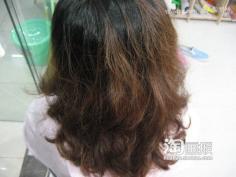 韩式复古长发盘发~从此起死回生 韩式长发日常盘发