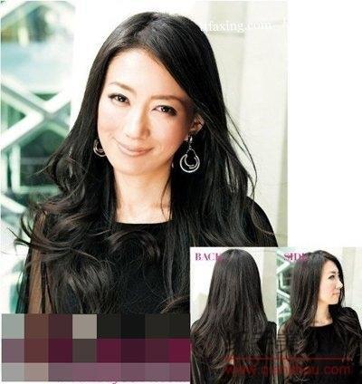 中年妇女发型 适合中年妇女的长发短发发型图片