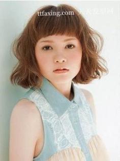 超短日系刘海发型设计 更有青春活力帮助你有效掩龄