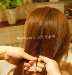 5步教你如何打造韩式diy发型