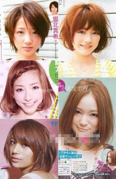 日本时尚杂志短发发型大播报