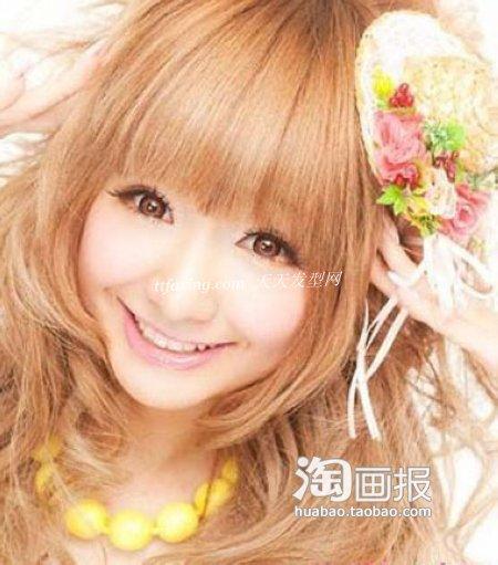 夏季日系超萌街拍瘦脸发型 修出小脸美人儿