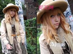 日本非主流时尚街拍 另类发型大参考