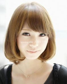 今年最流行的发型 挡不住的甜美小脸