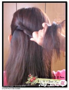 利用发饰大加分。独创3款夏日发型~