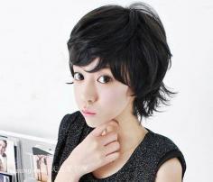 2013女生最新纹理烫演绎时尚发型潮