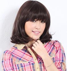 齐肩刘海公主发型—演绎公主甜美风