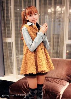 可爱齐刘海发型变身芭比小公主