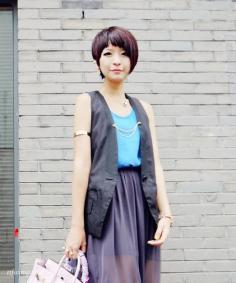超好看时尚女生减龄短发发型