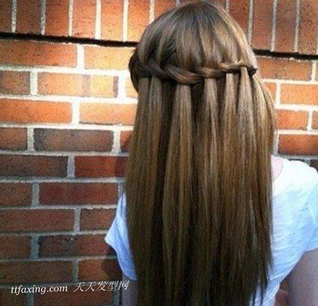 2013年中长式适合发型,精致diy编发简单美妞_图片打造盘发的发型图片