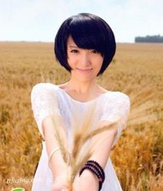 夏季最新女生短发发型系列之bobo头发型