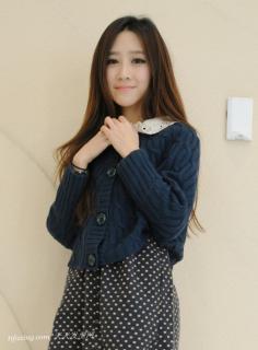 韩式刘海发型打造迷人魅力