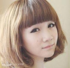 2013最流行学生韩版短发梨花头