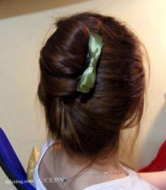 简单易学的直发发型diy,为甜美加分