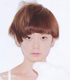 可爱的锅盖头发型设计大揭秘