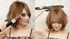 DIY日系甜美中短发发型 让魅力指数直线上升