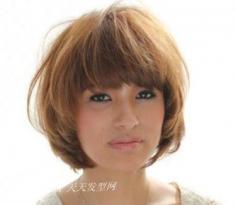 脸型与发型的搭配——长脸MM修颜的必杀技