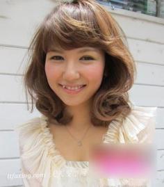 日系瘦脸发型 脸型配发型修出美美鹅蛋脸