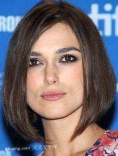 脸型配发型 6款方脸最上镜发型