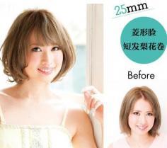 发型脸型搭配 卷发神器选正确十分钟拯救你脸型