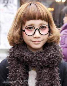 五大发型打造潮系萌女 时尚短发显瘦脸