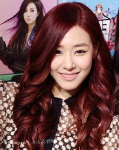 解密韩国女星造型秘密 中长款卷发发型