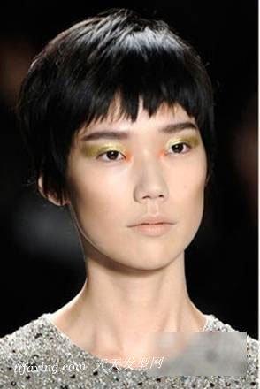 最流行短发发型图片 7款发型动感显高还扮嫩