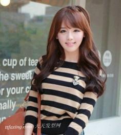 2013流行韩式发型 浓厚春季气息简约又实用