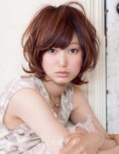 最流行的短发发型 方脸型女生最适合的2款短发