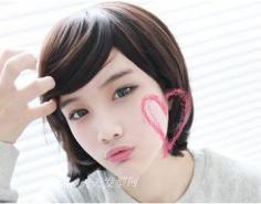 韩式可爱发型 做本季甜美发型达人