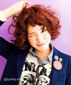 开春换个甜美短发 女生甜美短发发型