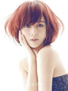 8款明星扮嫩瘦脸发型 杨幂范冰冰变身小萝莉